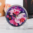 """Table clock """"Orchid"""""""