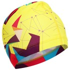 Шапочка для плавания, взрослая OL-022, текстиль, цвет желтый