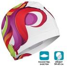 Шапочка для плавания, взрослая OL-026, текстиль