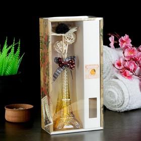 "Gift set""Eiffel tower""(vase,2 sticks with beads,decor,fragrance oil 30ml) orange"