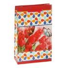 """Пакет подарочный """"Тюльпаны"""" 16,5 х 7 х 26,5 см"""
