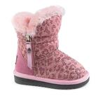 Угги для девочек арт. G8047, цвет розовый, размер 23