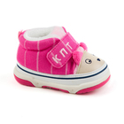 Пинетки для девочек арт.H5145, цвет розовый, размер 15