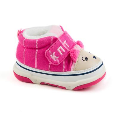 Пинетки для девочек арт.H5145, цвет розовый, размер 17