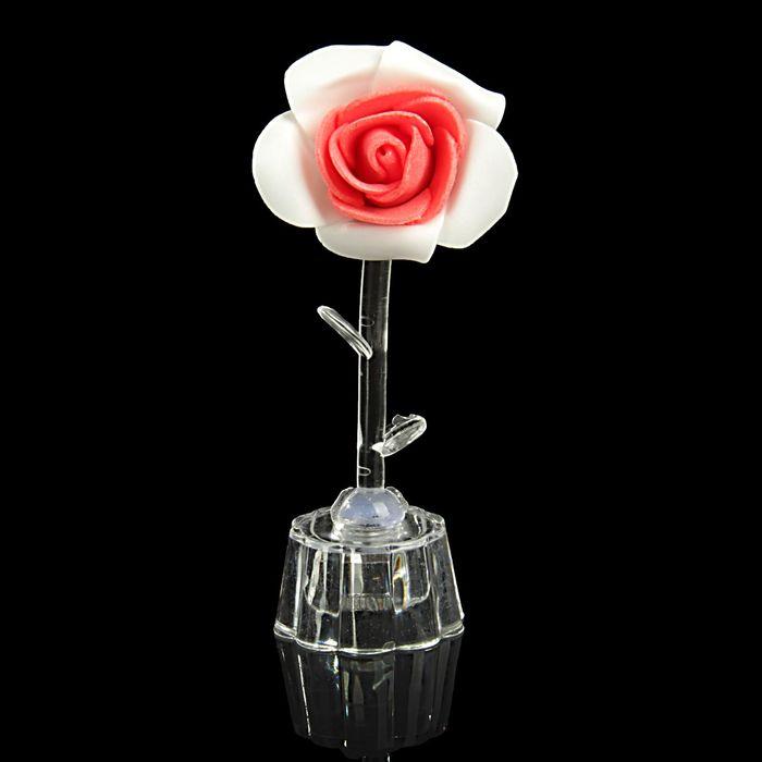 """Сувенир световой """"Чайная роза"""" 1 бутон МИКС"""