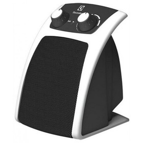 Тепловентилятор Electrolux EFH/C-5120, напольный, керамический, 1500 Вт, 25 м2, бело-чёрный