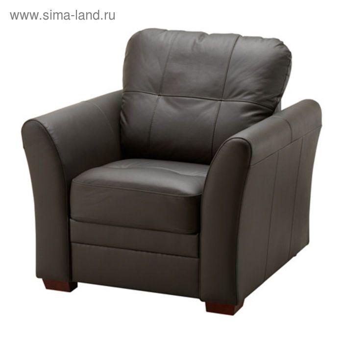 Кресло, Глосе/Бумстад темно-коричневый ГЕССБЕРГ