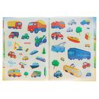 Многоразовые наклейки для малышей «Машинки», с развивающими заданиями - фото 105685794