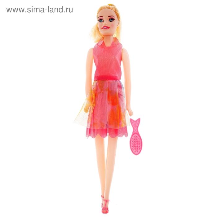 """Кукла """"Алина"""", с расческой, МИКС, 28 см"""