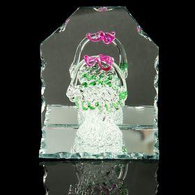 Сувенир 'Корзинка' на зеркале Ош