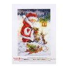 """Рисунок на канве """"Юный Санта"""" 1925"""