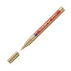 Маркер-краска (лаковый) 2.0 мм EDDING E-751/53 золотой металлический корпус