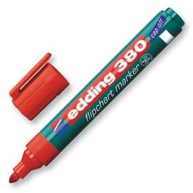Маркер для флипчарта 3.5 мм EDDING (по бумаге) E-380/2 красный