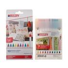 Маркер для ткани набор 10 цветов Edding E-4600/10S/1-10 1.0 мм