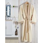 Халат махровый Adra, размер L/XL, цвет кремовый, 350 г/м2