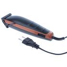 Машинка для стрижки ATH-6888, 9 Вт, 230 В, 4 насадки, оранжевая