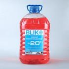 Жидкость в бачок омывателя зимняя BLIK, -20°С, 4 л