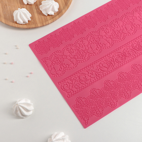 Коврик для айсинга «Восхищение», 39×29,5 см, цвет МИКС