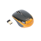 Мышь E-Blue ASTRONAUT, беспроводная, оптическая, 1800 dpi, USB, оранжевая