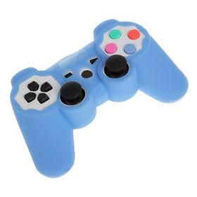 Силиконовый чехол для PS3 Oxion OSC01BL, синий (OSC01BL) Ош