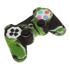 Силиконовый чехол для PS3 Oxion OSC01GNM, зелёный камуфляжный (OSC01GNM)