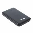 Внешний аккумулятор OXION Ultra Thin 10000 Li-pol OPB-1018 2USB 1A/2A, чёрный, пластик