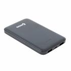 Внешний аккумулятор OXION Ultra Thin 6000 Li-pol OPB-0609 2USB 1A/2A, чёрный, пластик