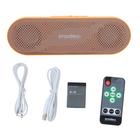 MP3-плеер Enzatec MP505OG SD/USB, пульт ДУ, стерео, оранжевый