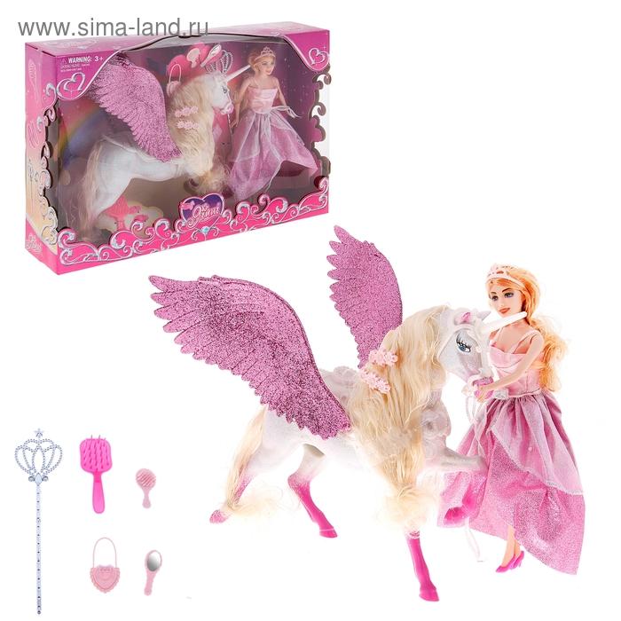 Кукла с лошадкой, МИКС
