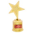 """Звезда награда """"Ты лучше всех"""""""