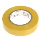 Изолента LOM, ПВХ, 15 мм х 14 м, 130 мкм, желтая