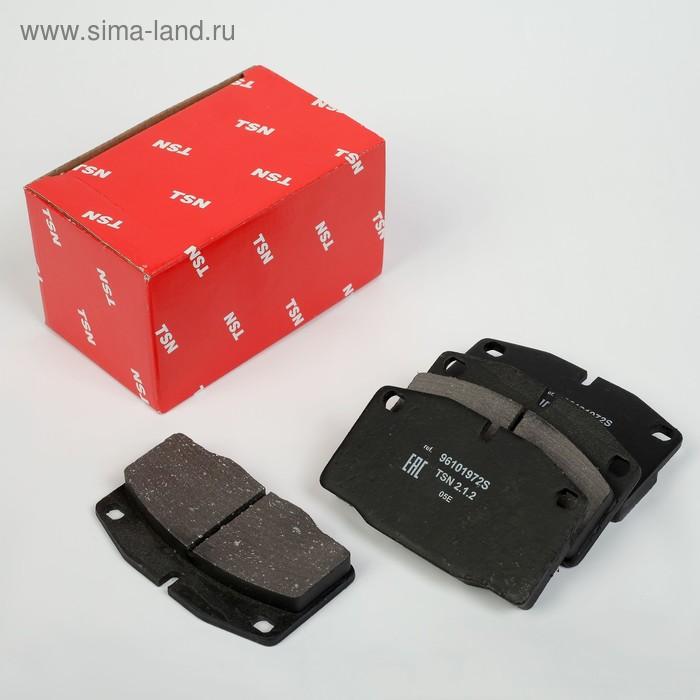 Колодки тормозные дисковые, передние на DAEWOO Nexia, комплект 4 шт.