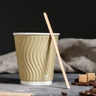 Палочка для размешивания, деревянная, 140 х 6 х 1,3 мм