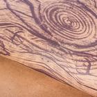 Бумага упаковочная крафтовая «Дерево», 50 × 70 см