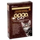 """Мультивитаминное лакомство GOOD CATдля кошек,  """"Творог и сметана"""", 90таб."""
