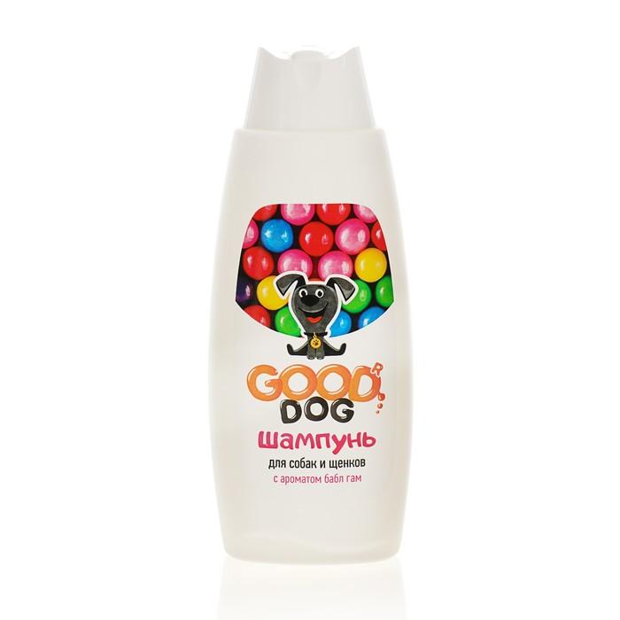 Шампунь GOOD DOG для собак и щенков, с ароматом Bubble Gum, 250 мл