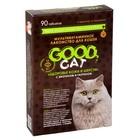 """Мультивитаминное лакомство GOOD CATдля кошек, """"Здоровье шерсти и кожи"""", 90 таб"""