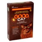 """Мультивитаминное лакомство GOOD CATдля кошек,  """"Голландский сыр"""", 90 таб"""