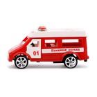 Машина инерционная «Пожарная охрана» - фото 105656488