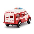 Машина инерционная «Пожарная охрана» - фото 105656489