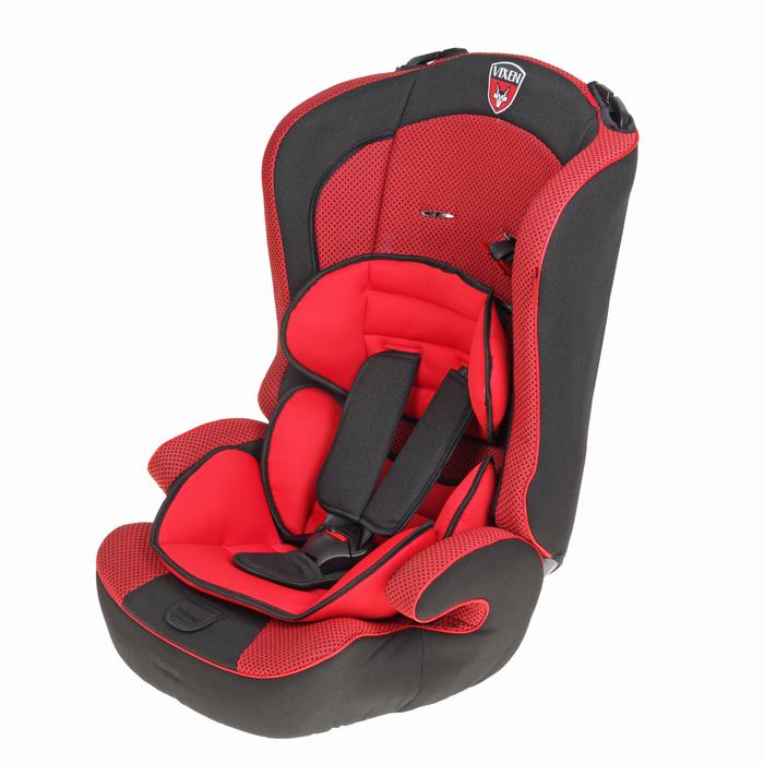 Автокресло-бустер «М1 Оникс», группа 1-2-3, цвет красный/чёрный
