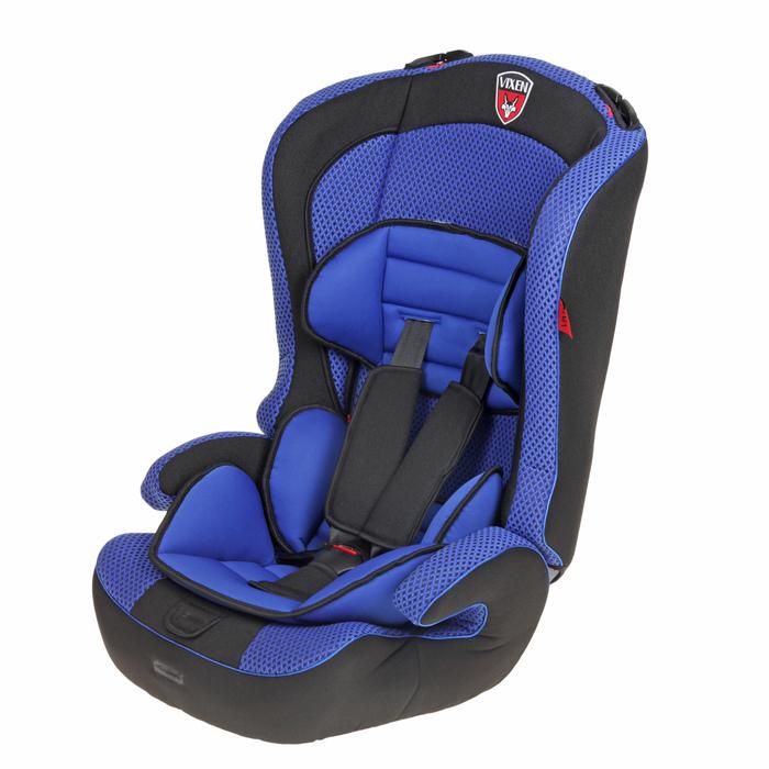 Автокресло-бустер «М1 Оникс», группа 1-2-3, цвет синий/чёрный