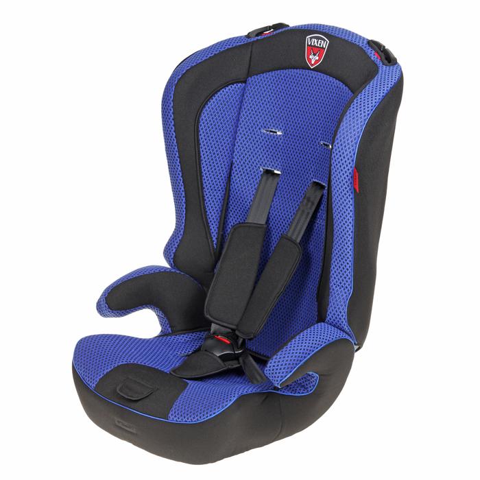 Автокресло-бустер «М1 Оникс Mini», группа 1-2-3, цвет синий/чёрный