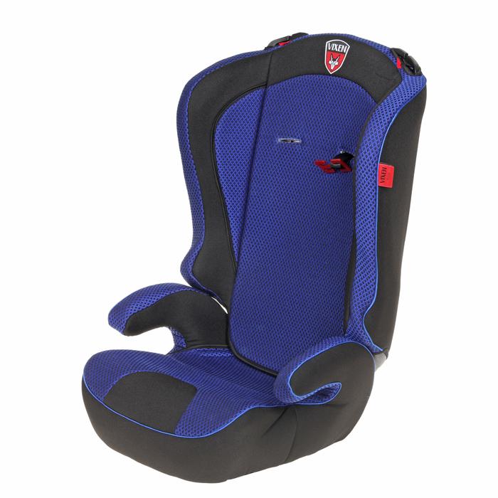 Автокресло-бустер «М2 Оникс», группа 2-3, цвет синий/чёрный