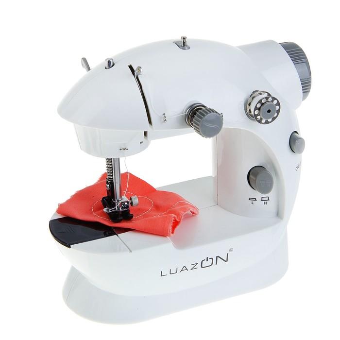 УЦЕНКА Швейная машинка LuazON LSH-02, белый