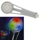 УЦЕНКА Лейка на душ с подсветкой LED RGB c датчиком температуры LD-002 порвана упаковка