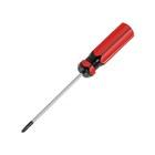 Отвертка крестовая LOM, PH0 4х75 мм (+), обработка полировка, пластиковая рукоятка
