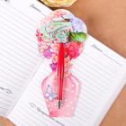 """Ручка пластиковая с цветком """"С праздником весны!"""""""