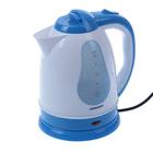 Чайник  JARKOFF JK-1230Bl, 1.8 л,1500 Вт, голубой