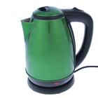 Чайник JARKOFF JK-202GR, 1.8 л, 1850 Вт, зеленый